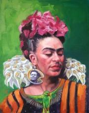 F.Kahlo-Oil